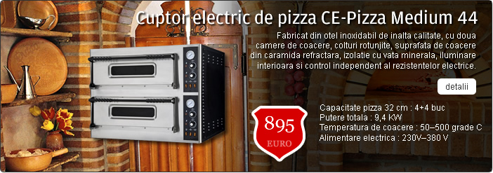 Cuptor electric de pizza CE-Pizza Medium 44